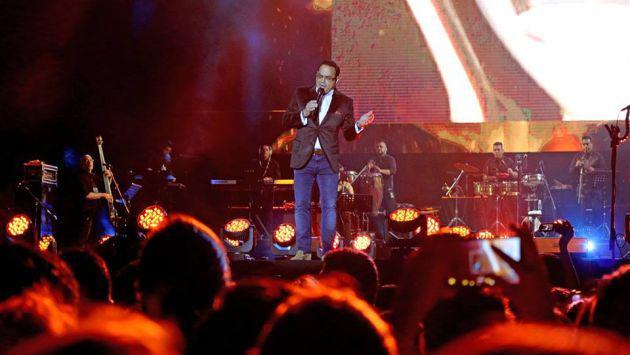 Gilberto Santa Rosa y Víctor Manuelle en el 'Juntos en Concierto VIII'. (Foto: Radiomar Plus)