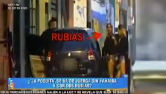 Así fue la juerga de los jugadores de la selección peruana (Fotos: captura video Latina)