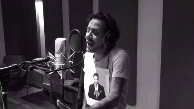 ¡Así grabó Marc Anthony la canción 'Felices los 4'! (VIDEO)