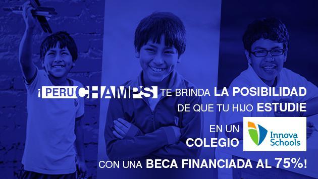 Perú Champs otorga 250 becas y Radiomar apoya esta iniciativa