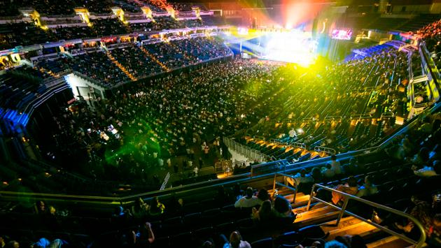 ¡Gran concierto! (Foto: facebook.com/coliseodepuertorico/Christian Miranda)