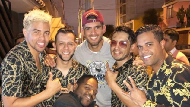 Combinación de la Habana armó la fiesta en el cumpleaños de Carlos Zambrano