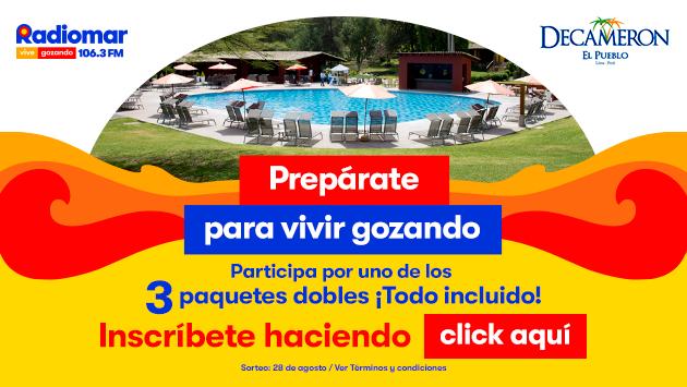 ¡Gana un paquete para el hotel Decameron El Pueblo gracias a Radiomar, Vive Gozando!