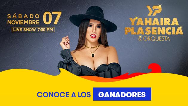 Conoce a los ganadores de los 7 accesos para el concierto virtualde Yahaira Plasencia