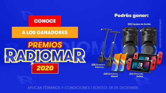 ¡Conoce a los ganadores de los Premios Radiomar 2020!