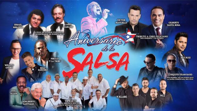 ¡Conoce aquí quiénes se presentarán en concierto en el Aniversario de la Salsa!