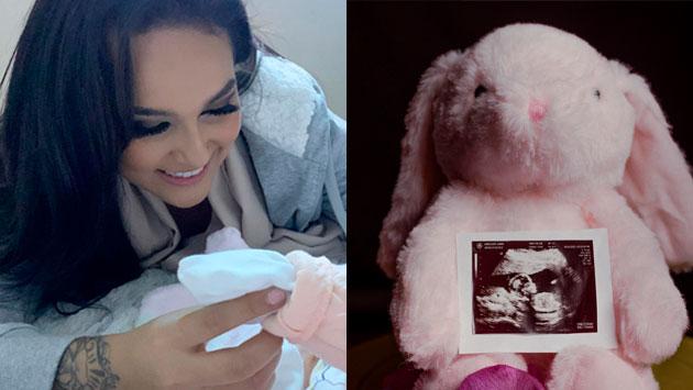Daniela Darcourt anuncia el nacimiento de su sobrina [FOTOS]