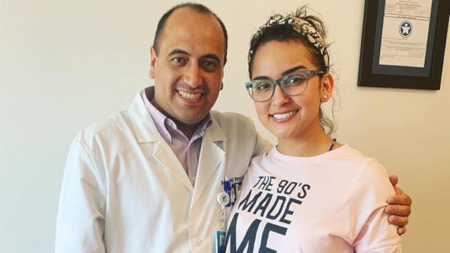 Daniela Darcourt viajó a Colombia para continuar con su tratamiento en las cuerdas vocales