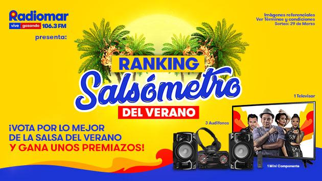 ¡Conoce a los ganadores de los premiazos de 'El Salsómetro del Verano' de Radiomar!
