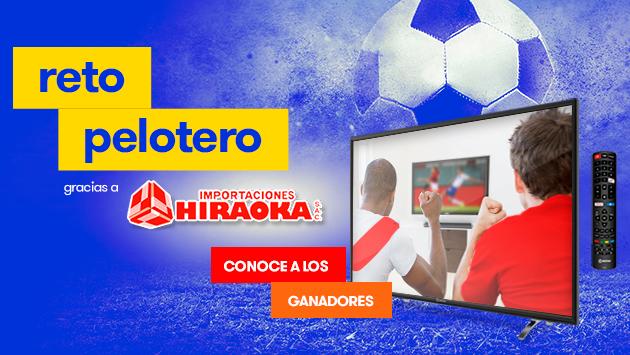 ¡Ellos ganaron un televisor con el 'Reto Pelotero', gracias a Radiomar e Hiraoka!