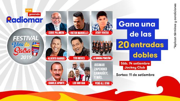 ¡Gana una de las 20 entradas dobles para el festival Viva la Salsa!