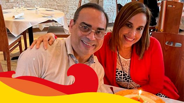 Gilberto Santa Rosa derrocha amor por su esposa en redes sociales