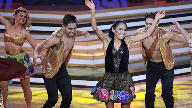 Gladys Tejeda se lució bailando en 'El Gran Show' [VIDEO]