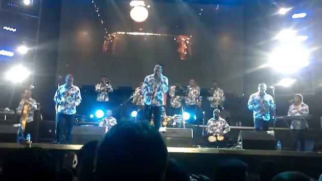 Grupo Niche hizo bailar a miles en el Estadio Nacional (Fotos: capatura video)