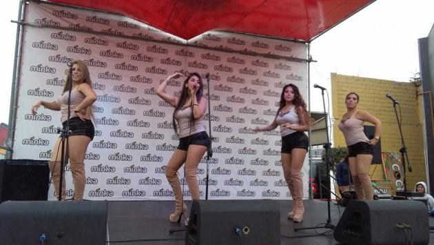 Conoce a Rubí Coila, cantante de 'Las que mandan' - (Fotos: Facebook/LasQueMandan - captura Youtube Amor Amor Amor)