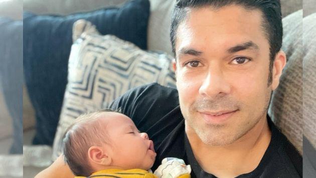 Jerry Rivera presentó a su tercer nieto en redes sociales
