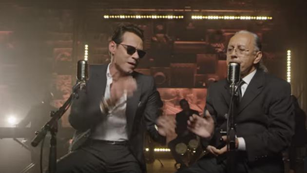 ¡Marc Anthony lanza canción junto a su padre! (VIDEO)