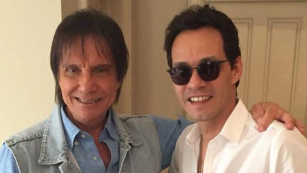 Marc Anthony realizará nueva canción con Roberto Carlos