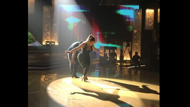 Melissa Klug debutó en 'El Gran Show' (Fotos: Facebook)
