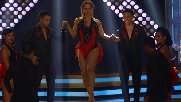 Melissa Klug bailó con Son Tentación mix de Las Chicas del Can (Fotos: El Gran Show)