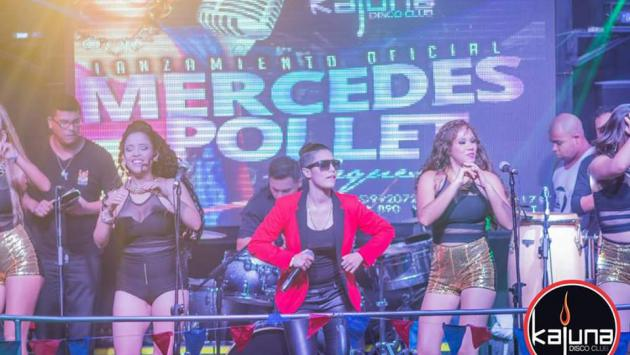 Ex Son Tentación lanzó su propia orquesta (Fotos: Facebook/MercedesPollet)