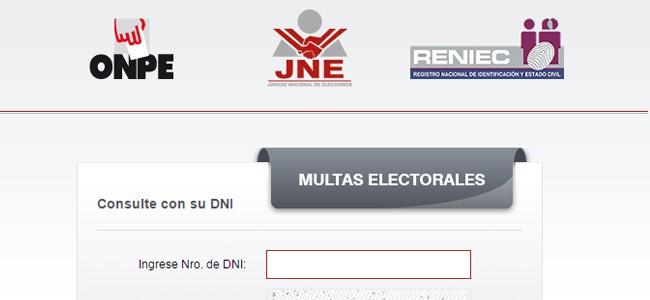 Conoce si registras multas electorales