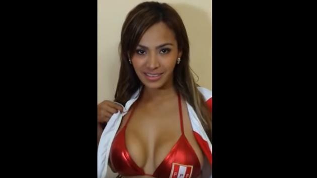 Nissu Cauti, novia de la selección peruana, mostró adelanto de desnudo
