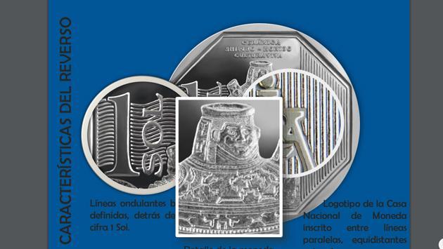 Conoce la nueva moneda alusiva a la cerámica Shipibo (Fotos: Banco Central de Reserva)