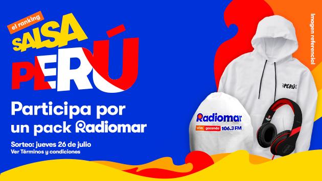 ¡Vota por tu salsa peruana favorita y gana el pack Radiomar!