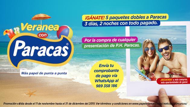 ¡Papel Higiénico Paracas premia tu preferencia con cinco viajes todo pagado a Paracas!
