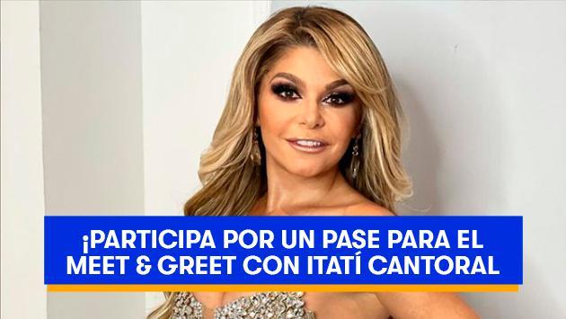 Participa y gana un Meet & Greet Itatí Cantoral
