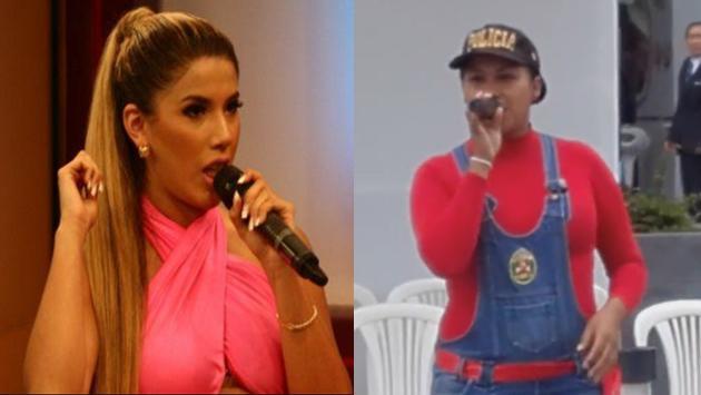 ¿Mujer policía canta mejor que Yahaira Plasencia?