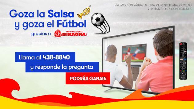 ¡Radiomar e Hiraoka te regalan un televisor Smart TV!