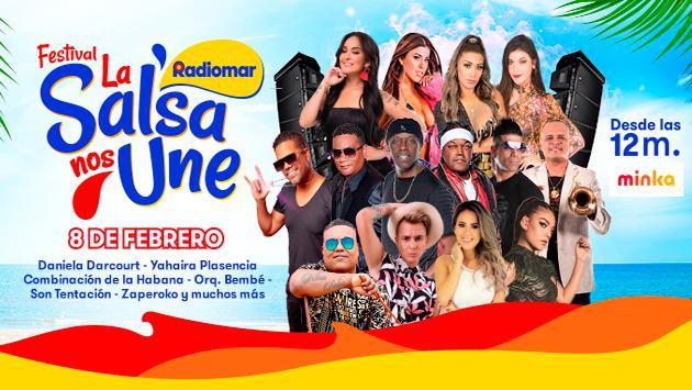 Radiomar reunirá lo mejor de la salsa nacional en el Festival La Salsa Nos Une