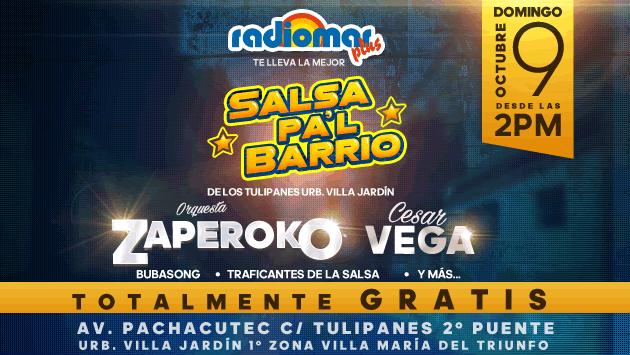 ¡La salsa llega a tu barrio con 'Salsa Pa'l Barrio', gracias a tu Radiomar Plus! (Foto: Radiomar)