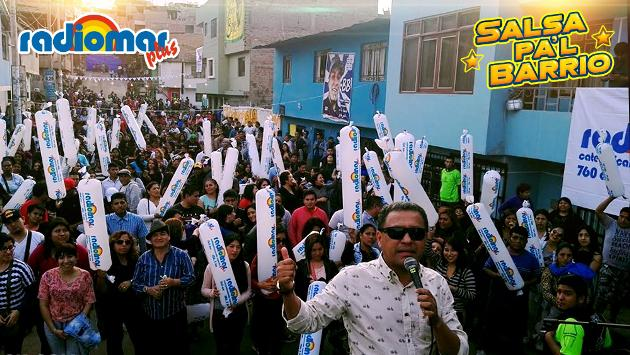 ¡Zaperoko se hizo presente en 'Salsa Pa'l Barrio'! (Foto: Radiomar)