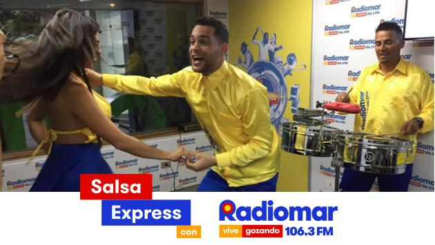 ¡Salsa Express llegará a donde te encuentres, gracias a Radiomar, vive gozando! (Foto: Radiomar)