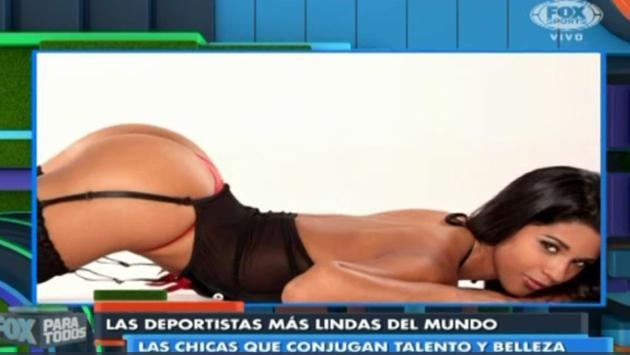Rocío Miranda entre las 5 deportistas más lindas del mundo según Fox Sports