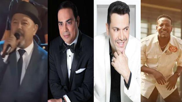 ¡La 'Feria de Cali 2016' presentará en concierto a los salseros Rubén Blades, Gilberto Santa Rosa, Víctor Manuelle y el Grupo Niche! (Foto: Composición)