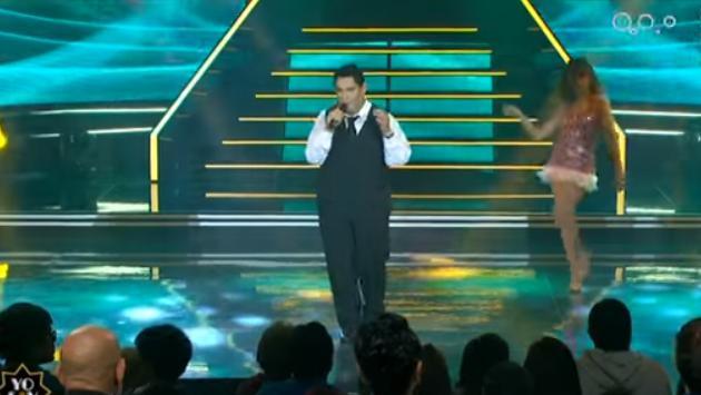 Así fue la presentación del imitador de Tito Nieves (Fotos: captura YouTube Yo Soy Oficial)