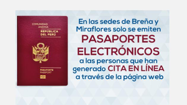 Emitirán pasaportes electrónicos próximamente en el Callao (Fotos:  Migraciones)