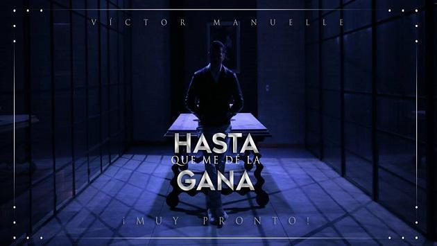 Víctor Manuelle anunció el lanzamiento de su nuevo sencillo 'Hasta que me dé la gana' (VIDEO)