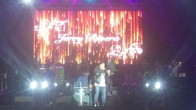 ¡Víctor Manuelle, Jerry Rivera, Zaperoko y César Vega realizaron concierto en Lima! (Foto: Radiomar)