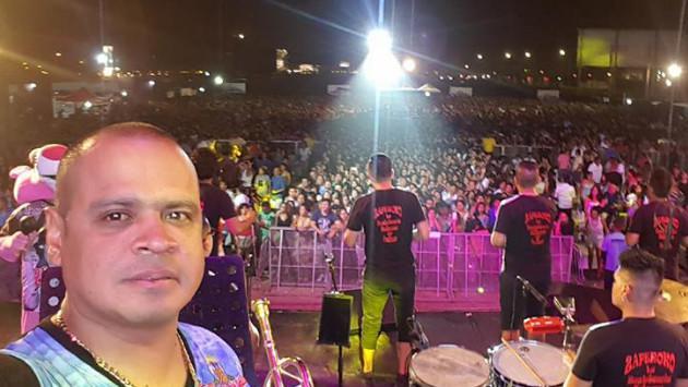¡Víctor Manuelle, Jerry Rivera, Zaperoko y César Vega realizaron concierto en Lima! (Foto: Facebook Zaperoko)