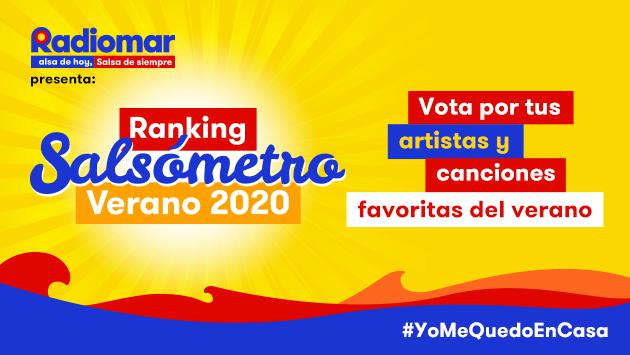 ¡Vota por tus artistas favoritos en El Salsómetro de Verano 2020!