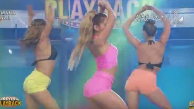 Mira la sorprendente imitación de Ximena Hoyos a Yahaira Plasencia (Fotos YouTube)