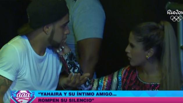 Imágenes comprometedoras entre Yahaira Plasencia y su músico (FOTOS: CAPTURA VIDEO YOUTUBE/LATINAENTRETENIMIENTO)