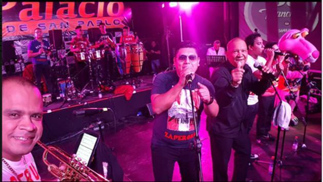 La orquesta Zaperoko realizó dos conciertos en Chile. (Foto: Facebook Zaperoko)