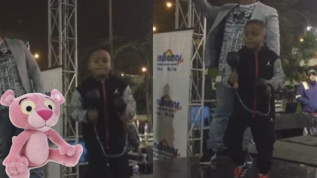 Niño 'Zaperokito' se robó el show en Plaza Norte (Fotos: Facebook Zaperoko)