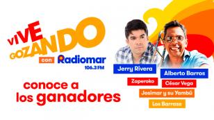 ¡Mira si ganaste una entrada doble para 'Vive Gozando con Radiomar' con Jerry Rivera y Alberto Barros!